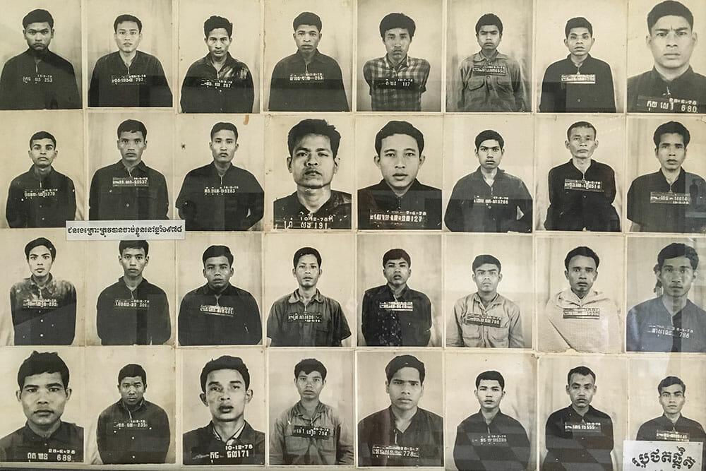 S21 Prison Victims Cambodia