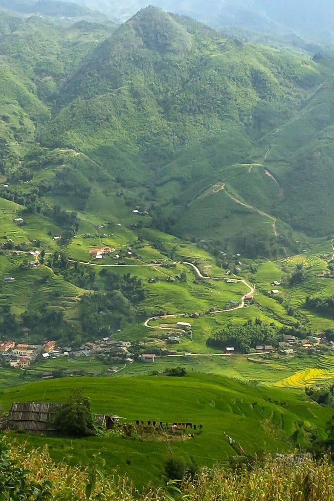 Sapa Vietnam Rice Terraces Paddies