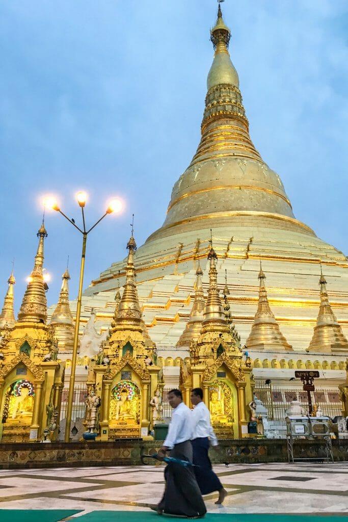 Shwedagon Pagoda Yangon Myanmar Burma