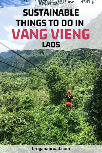 Sustainable Things to Do in Vang Vieng, Laos