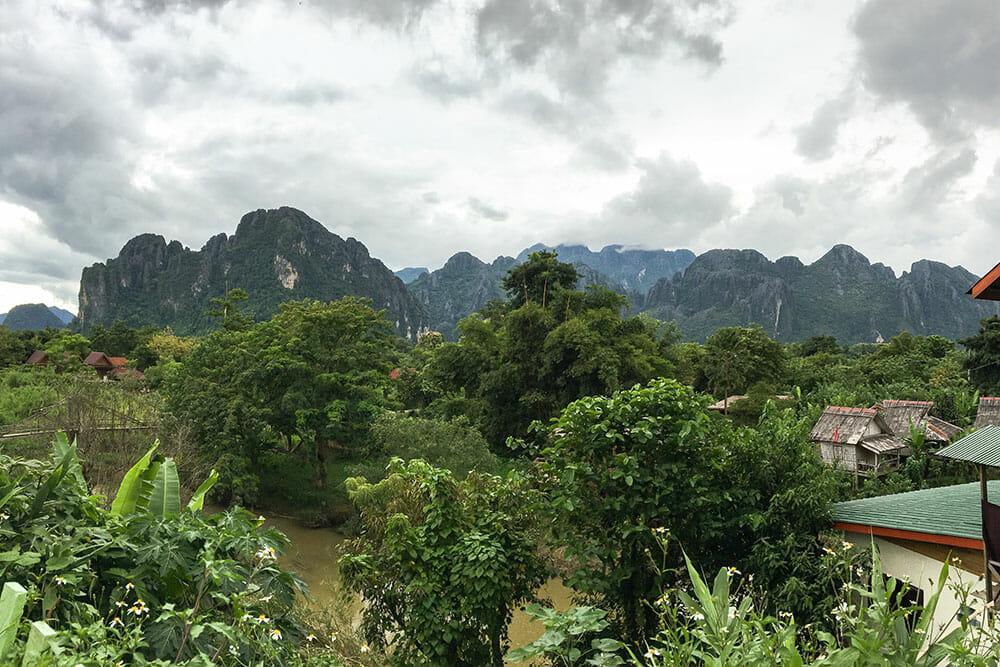 Vang Vieng Mountains, Laos