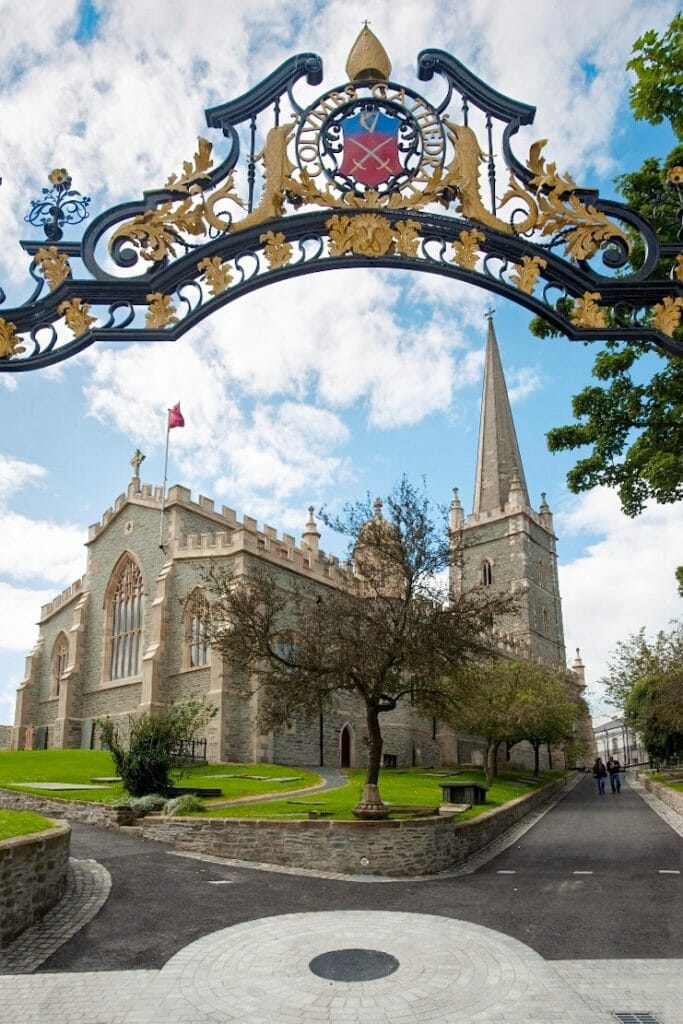 Cathedral St Columb Derry Northern Ireland Ulster Londonderry