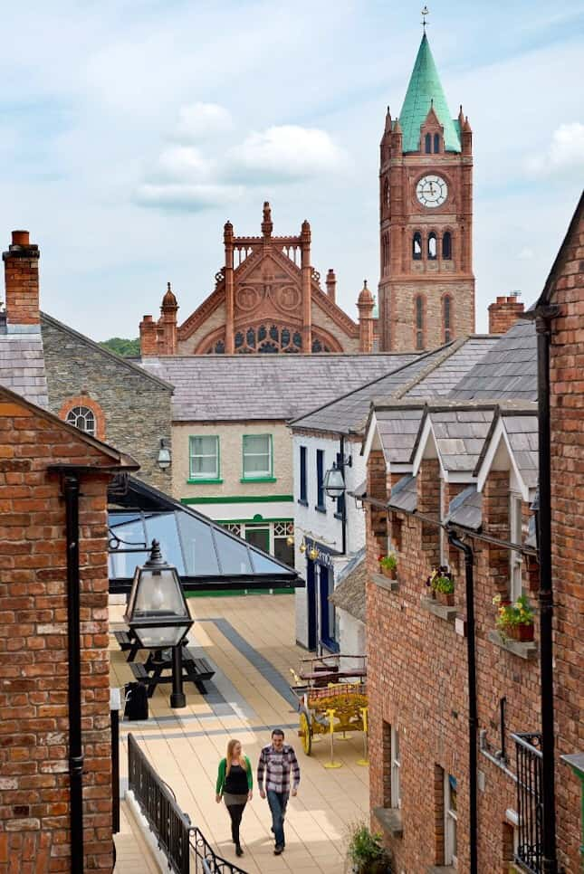 Derry Craft Village Northern Ireland Ulster Londonderry