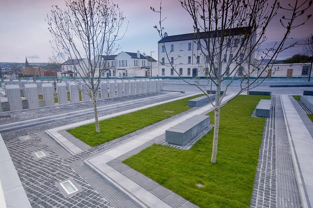 Ebrington Barracks Square Derry Northern Ireland Ulster Londonderry