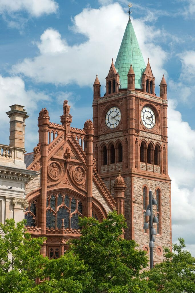 Guildhall Derry Northern Ireland Ulster Londonderry