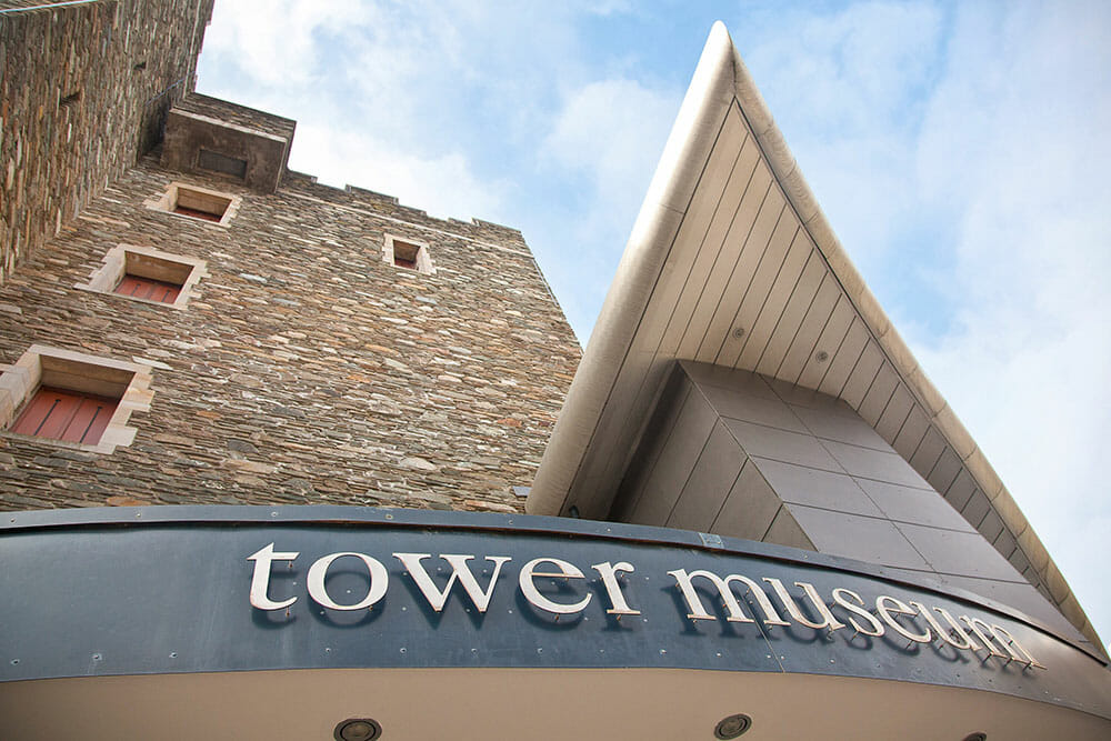 Tower Museum Derry Northern Ireland Ulster Londonderry