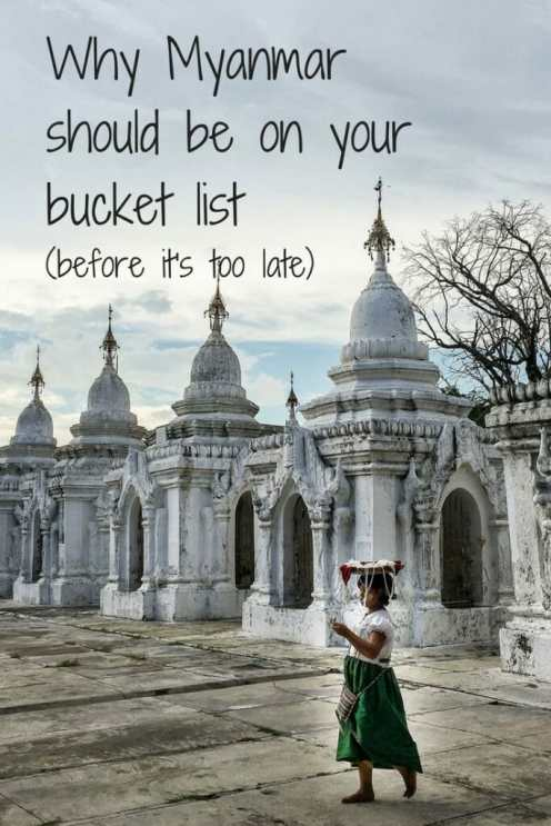 Myanmar bucket list