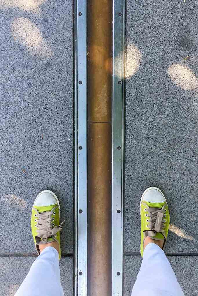 Greenwich London Meridian Line