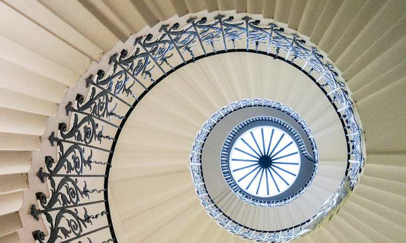 london greenwich queen's house tulip staircase
