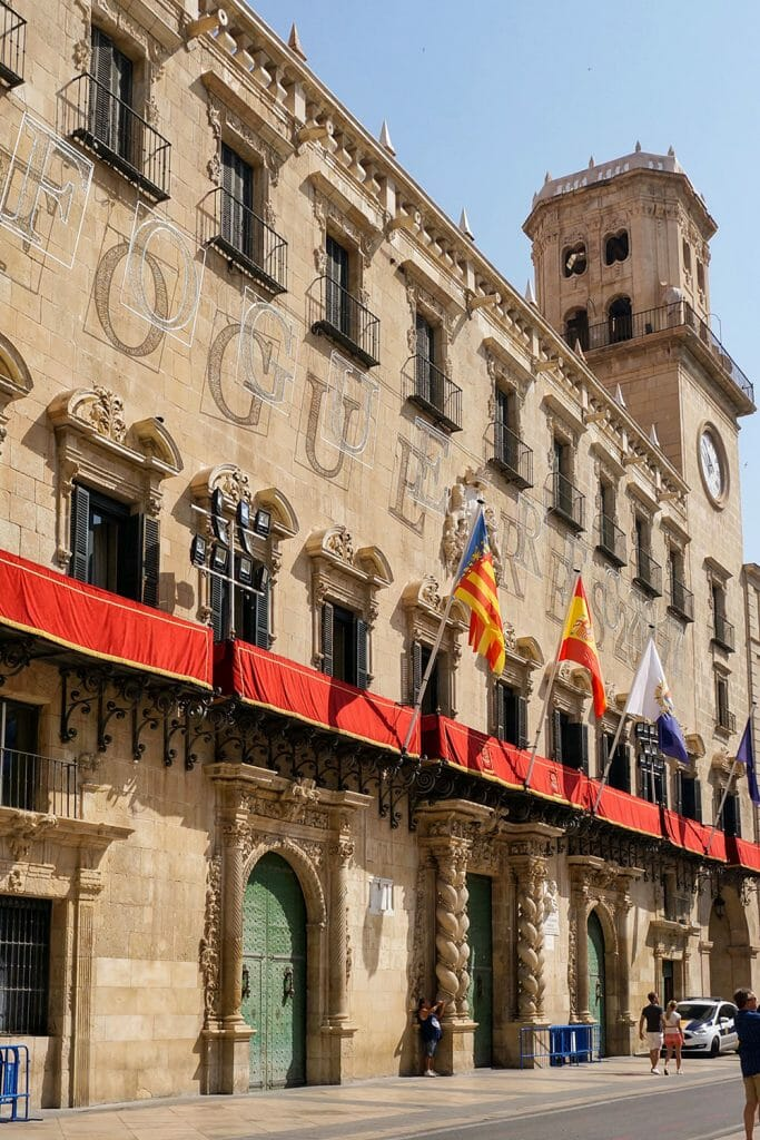 Alicante Spain Old Town Hall