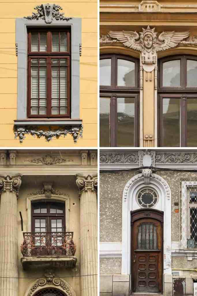 Bucharest Romania Armenian Quarter Architecture