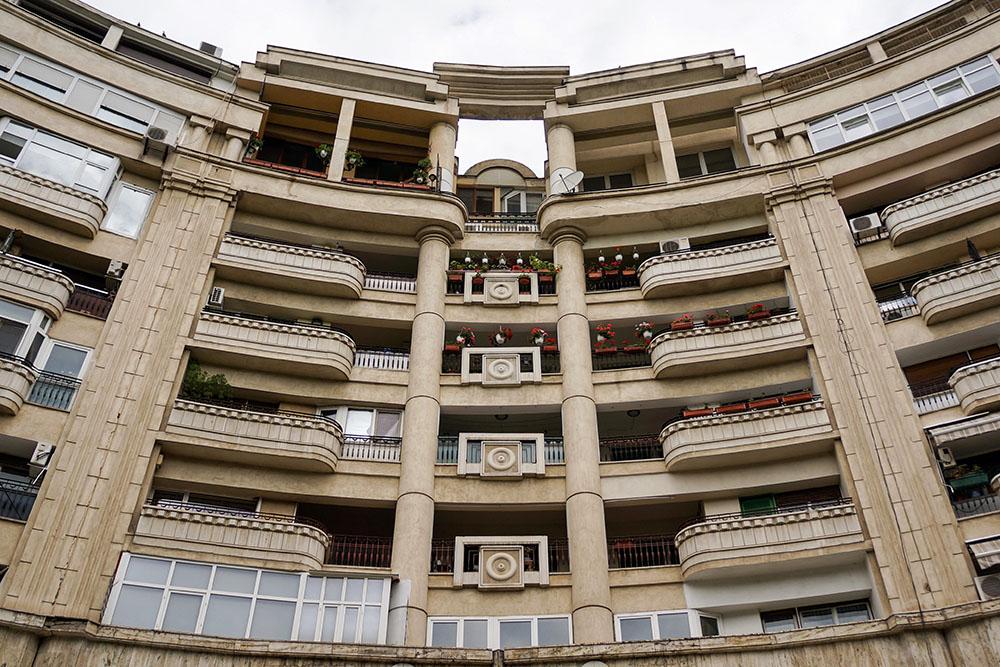 Bucharest Romania Communist Architecture