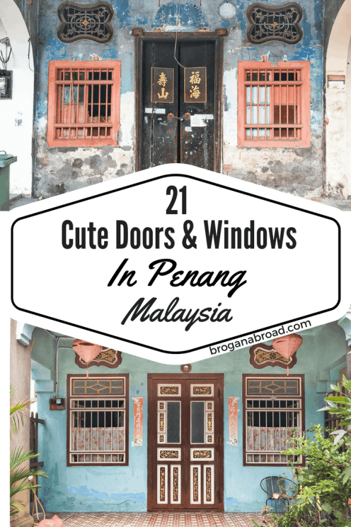 21 Cute Doors and Windows in Penang 2
