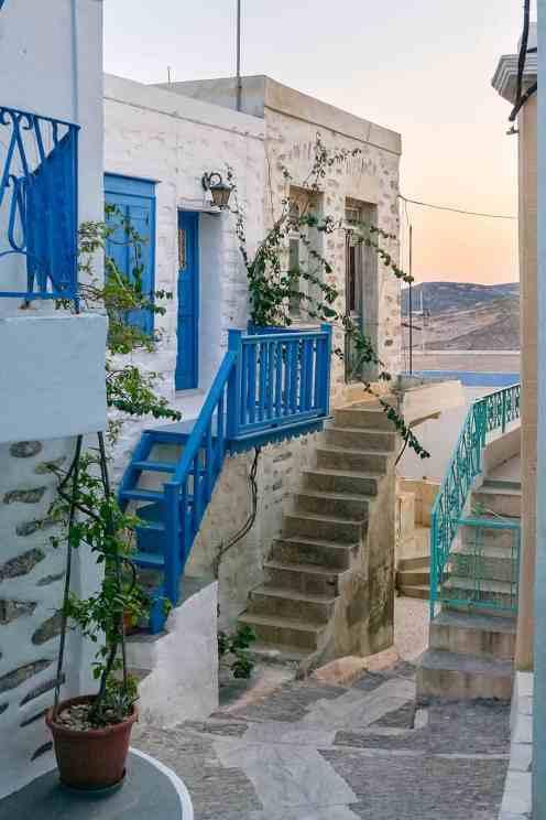 Ano syros alley greece
