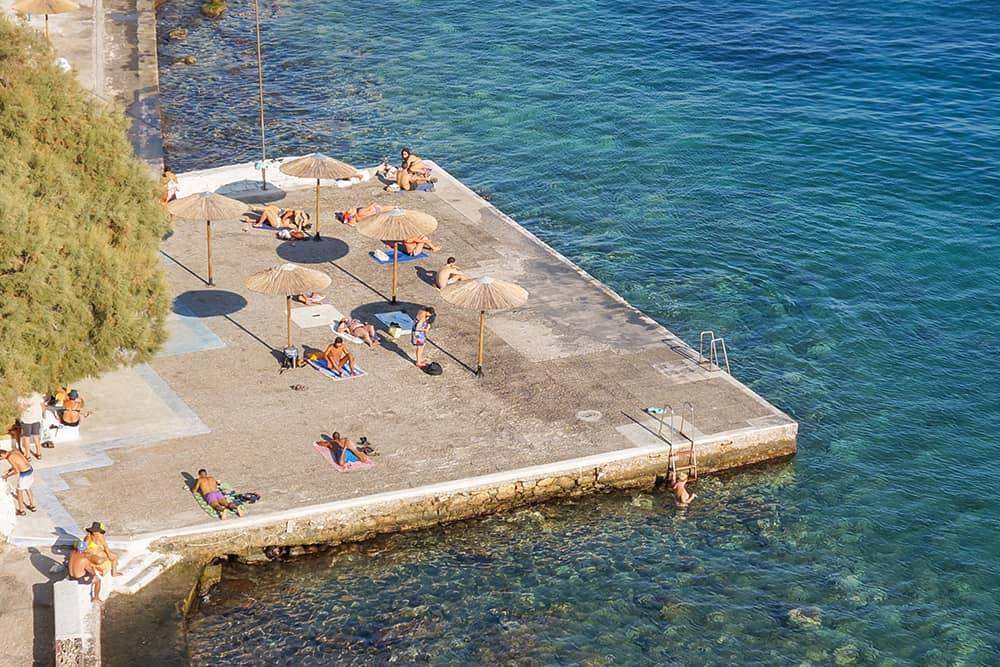 Astoria Beach syros greece