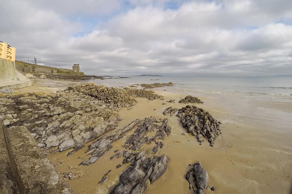 Malahide Coastline with Martello Tower County Dublin, Ireland