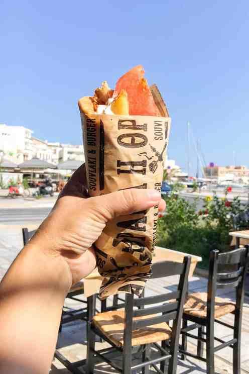 gyros syros greece