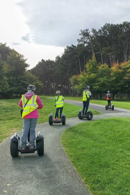 Adventure in Dublin Segway tour Phoenix Park Dublin Ireland