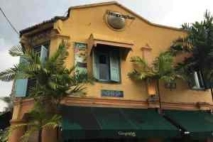 Geographer Cafe in Malacca Malaysia