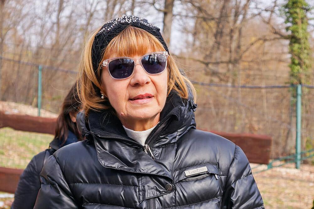Cristina Lapis, founder of the sanctuary