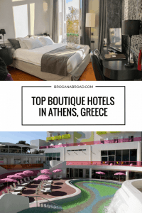 Whether you're passing on your way to the islands or exploring #Athens in depth, your choice of hotel can have an impact on your experience of a city. So here's a selection of some of the top boutique hotels in the city, as recommended by expert travel bloggers. #boutiquehotel #hotel #greece
