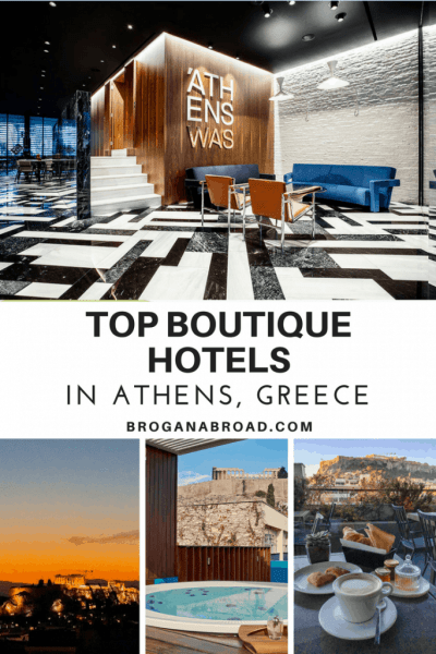 Top Boutique Hotels in Athens, Greece