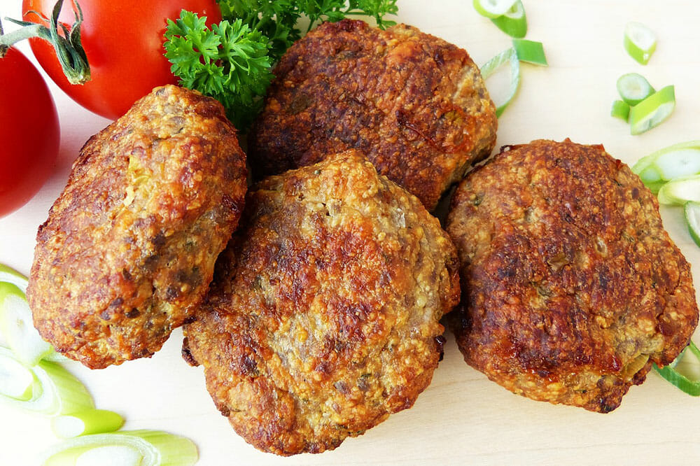 Greek Food Keftethakia Meatballs