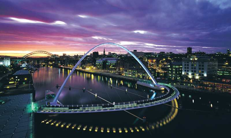 Newcastle Gateshead Quayside