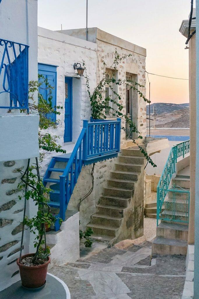 Ano Syros Alley, Syros
