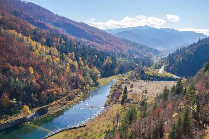 Autumn colours in Romania
