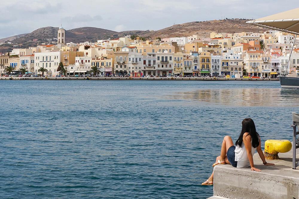 Ermoupoli Sea Front, Syros