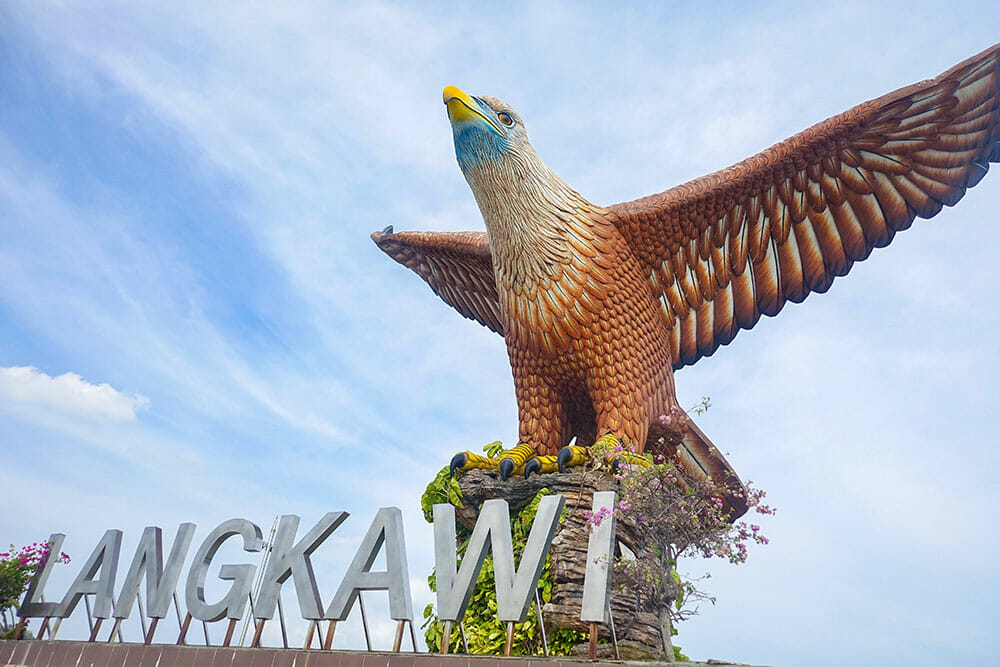 Langkawi Eagle Sign, Malaysia