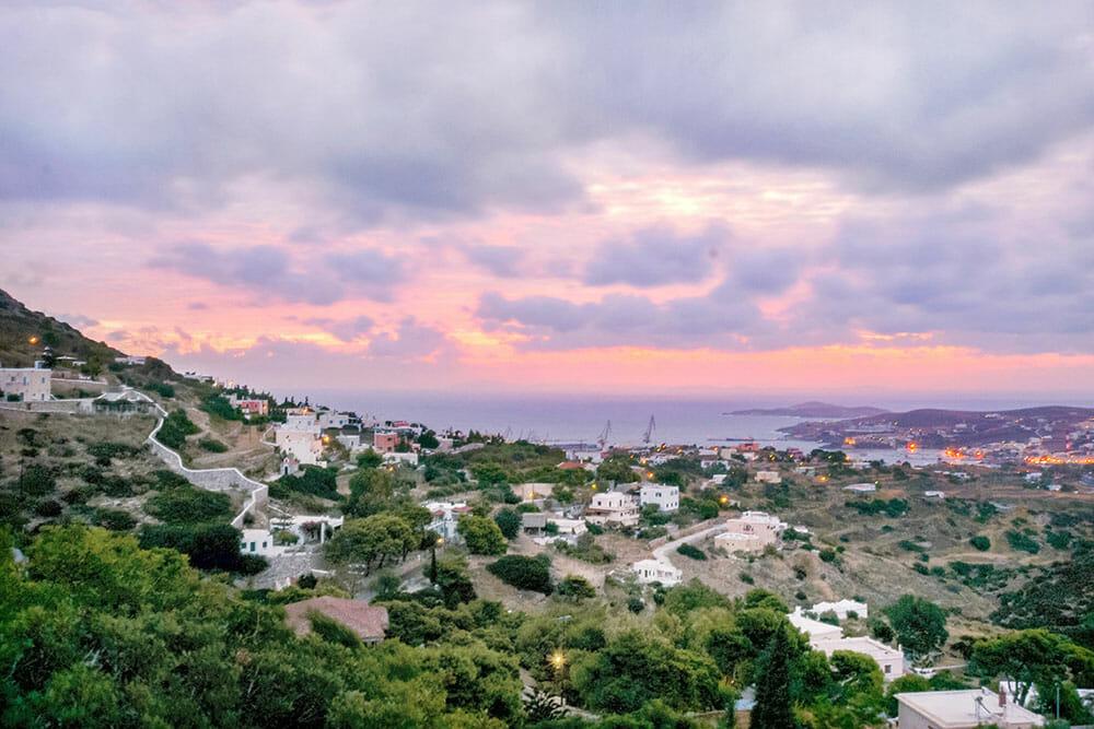 Sunrise in Syros