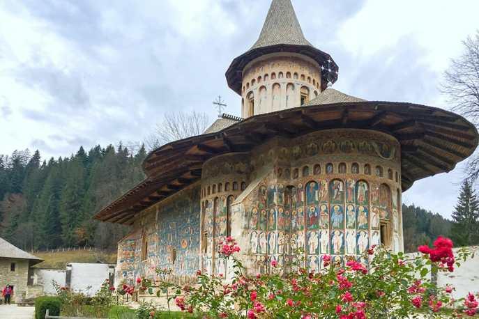 Voronet Monastery, Bucovina Romania