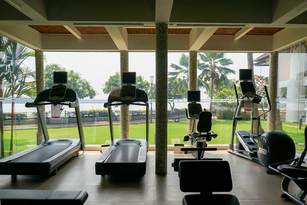 Ramada Cochin Resort Gym Kerala