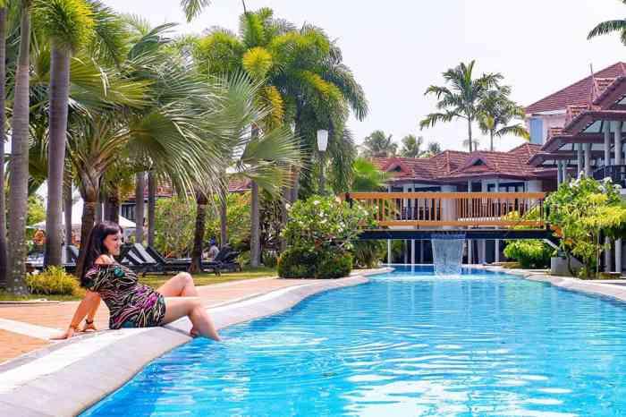 Ramada Cochin Resort Pool Kerala