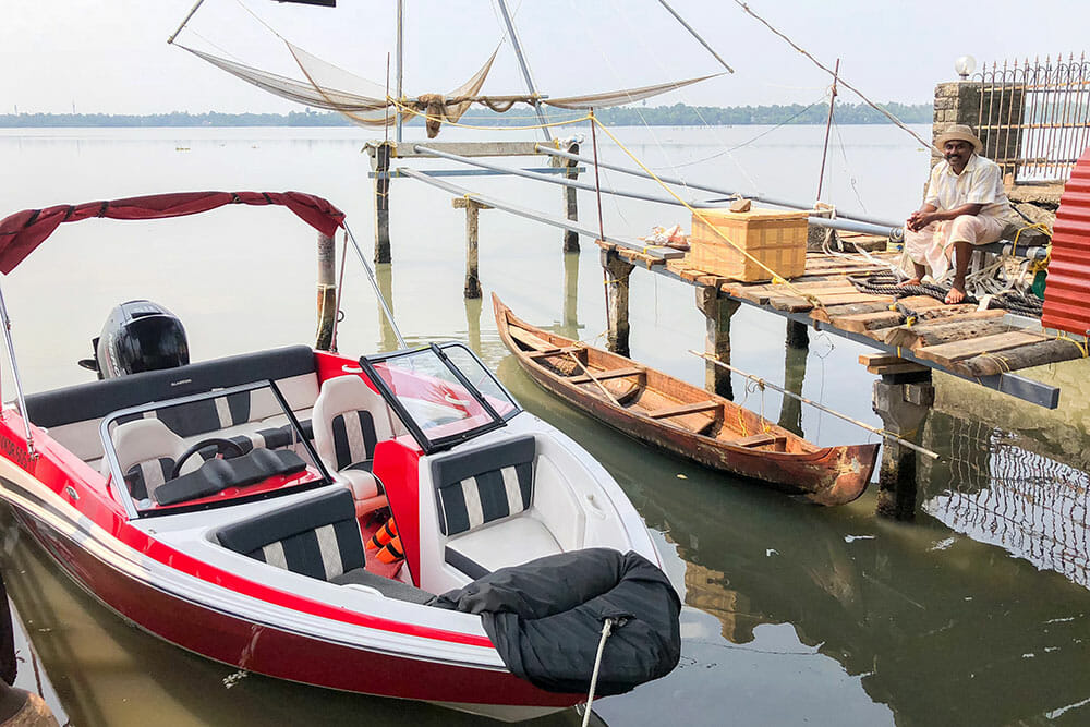 Ramada Cochin Resort Speed Boat Kerala
