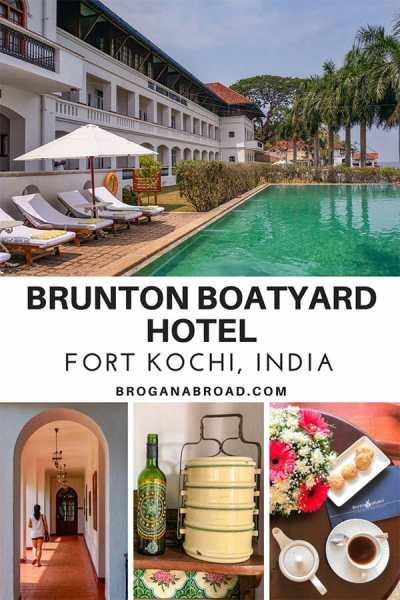 Staying in Brunton Boatyard in Fort Kochi, India - A Heritage Hotel