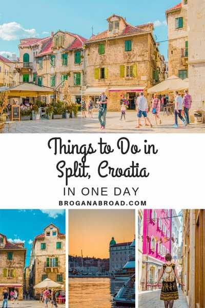 One Day Itinerary in Split, Croatia