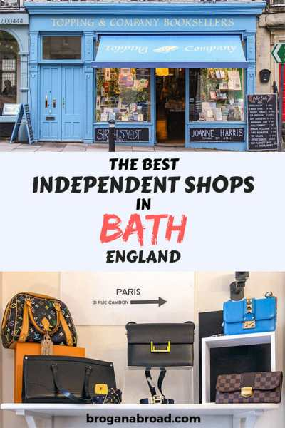 Exploring Bath Through its Independent Shops and Restaurants