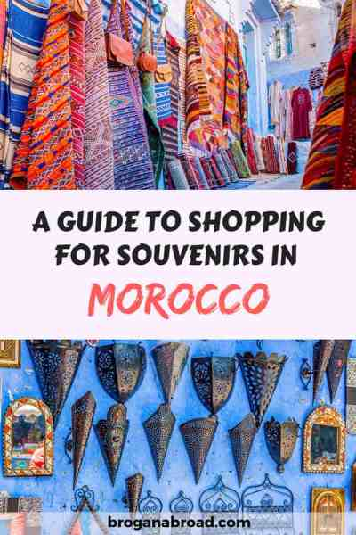 Shopping in Morocco - Unique Souvenirs to Bring Home with You