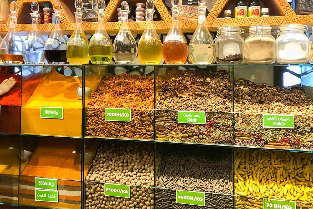 Tea shop in Morocco