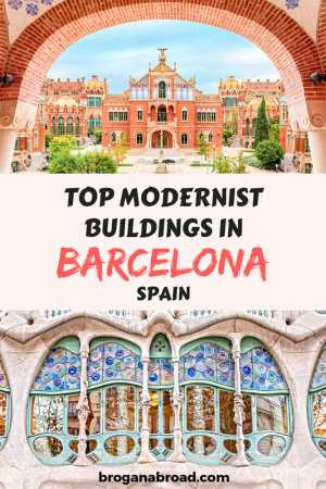 10 Modernist Buildings in Barcelona You Shouldn't Miss