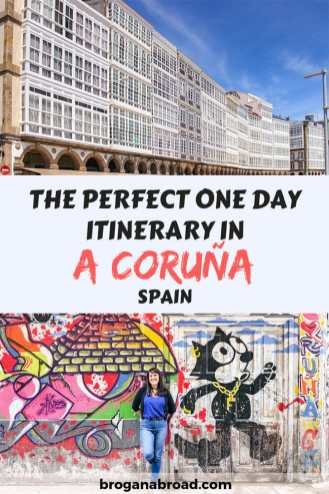 A guide to the best things to do in A Coruña, Spain with my recommendations for the perfect one day itinerary including where and what to eat. #acoruna #coruna #galicia #spain