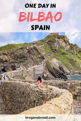 If you only have one day in Bilbao you can still make the most of it by combining a visit to the Guggenheim Museum and a trip to Gaztelugatxe, amongst other things that you can do. #Bilbao #Spain #GameofThrones