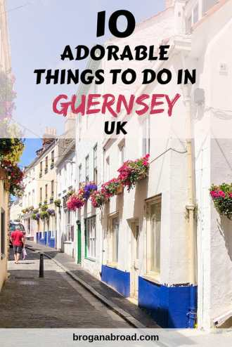 Whether you are visiting Guersey for a short break or as part of a cruise port day, here are ten adorable things to do in Guernsey and St Peter Port. #guernsey #channelislands #uk #travel