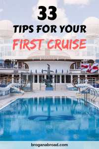 33 First Time Cruise Tips – Everything You Need to Know Before Your First Cruise