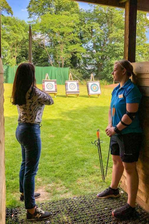 Archery-at-Studley-Castle,-Warwickshire-3