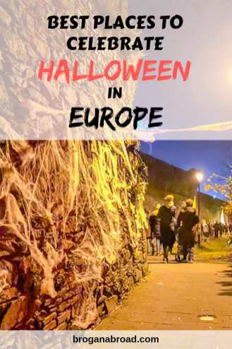 A compilation of the best places to celebrate Halloween in Europe, including the location where this now worldwide annual festival orginated from. #Halloween #Europe #Samhain