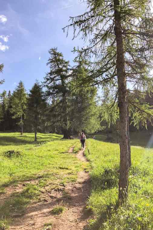 Hike-to-Lago-di-Tret,-Trentino-2